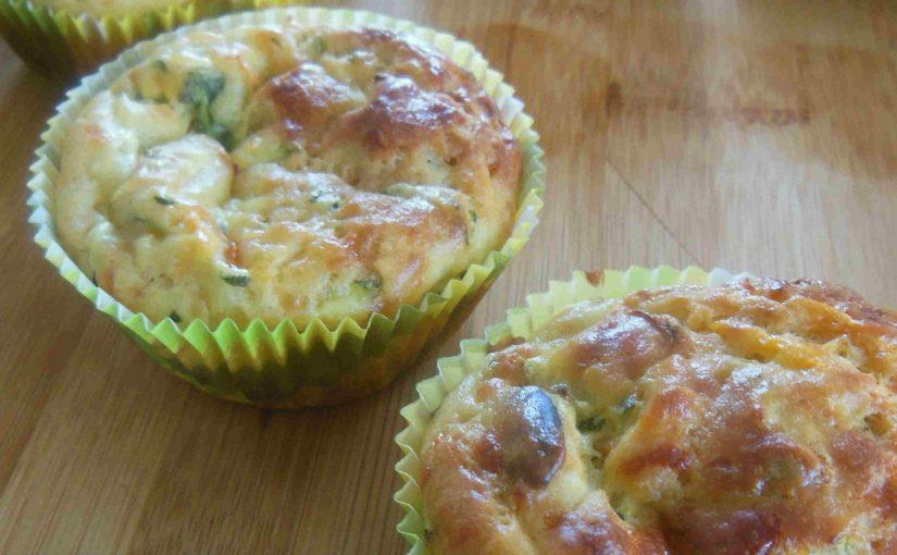 Muffini z bučkami in s korenčkom