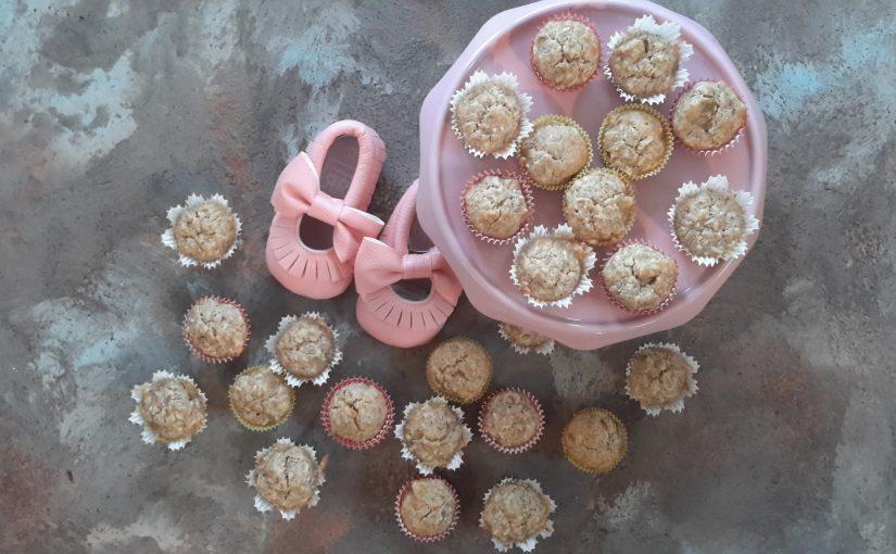 Mini kokosovi mafini za mini otročičke