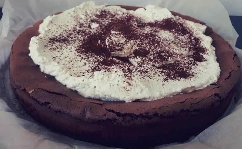 Torta z glavo v oblakih (Nigella's cloud cake)