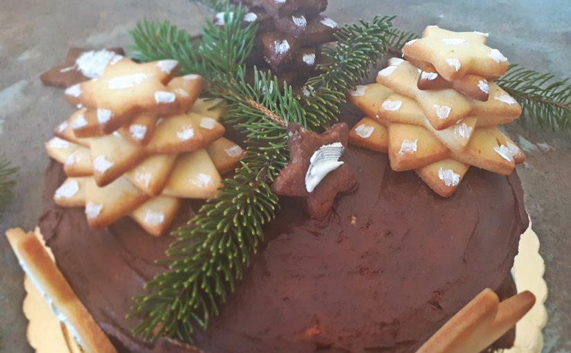 Torta z zvezdnim sijajem
