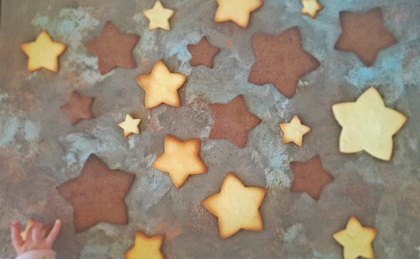 Masleni piškoti za zvezdice v očeh
